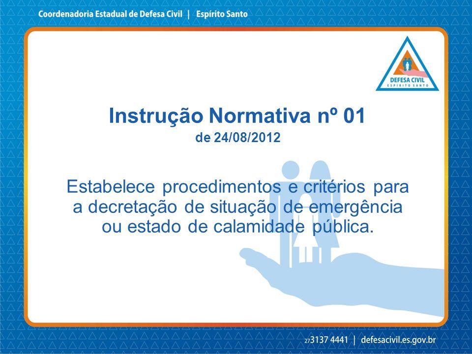 Formulário de Informação do Desastre