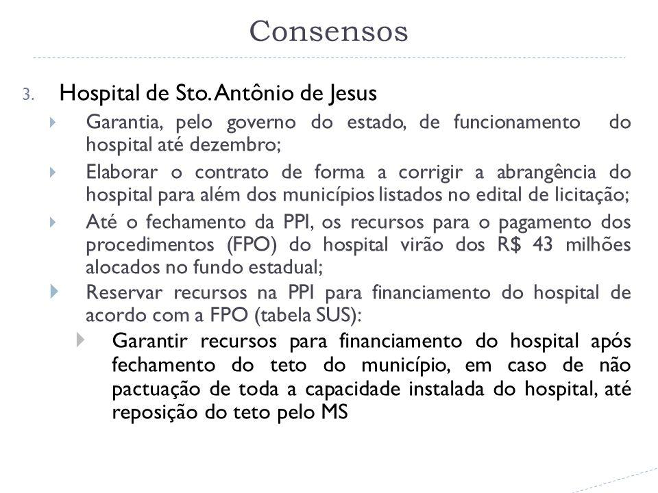 Consensos 3. Hospital de Sto.