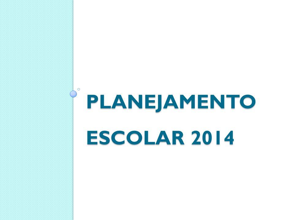 PLANEJAMENTO ESCOLAR 2014