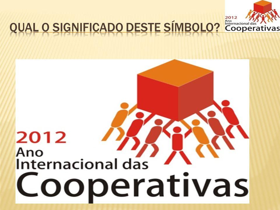 Não temos como não nos reportar ao tema do Ano Internacional das Cooperativas – Cooperativas constroem um mundo melhor; - Acreditamos nesta afirmação.