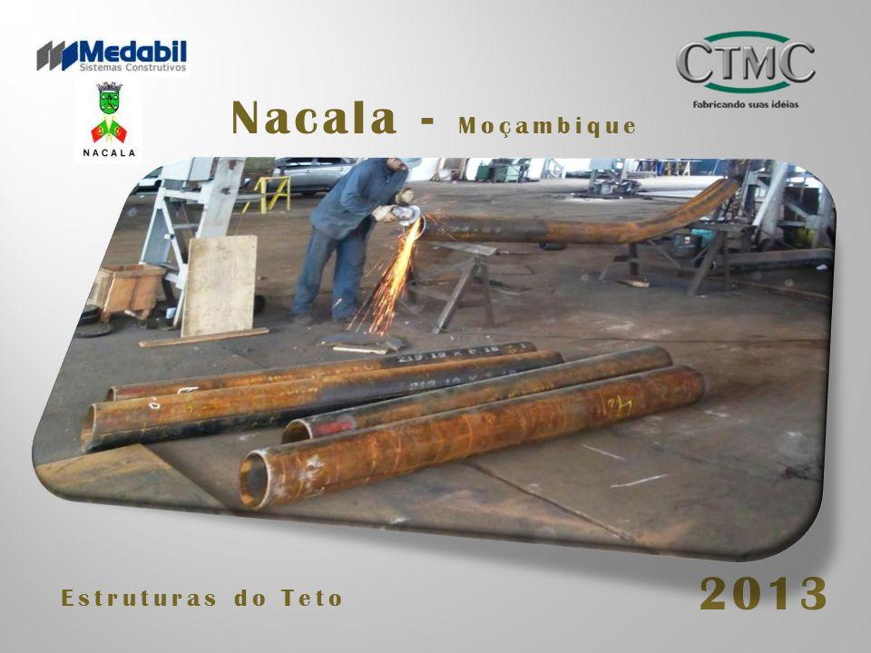 Nacala - Moçambique 2013 Estruturas do Teto