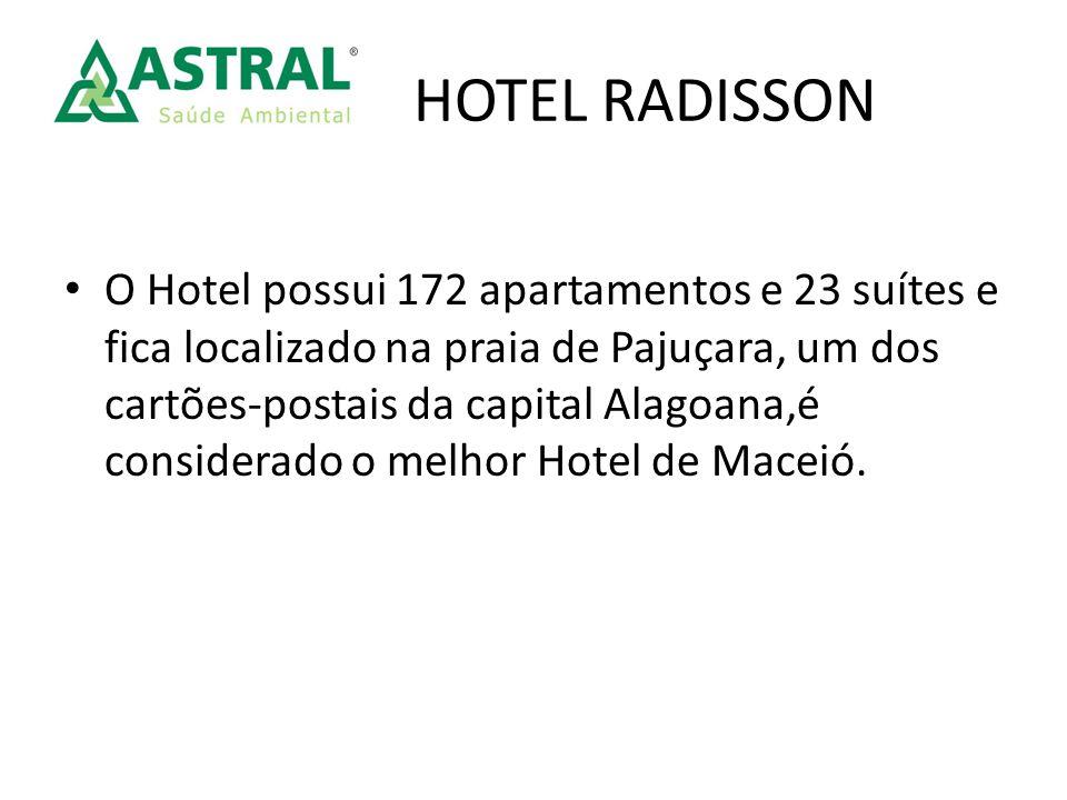 O Hotel possui 172 apartamentos e 23 suítes e fica localizado na praia de Pajuçara, um dos cartões-postais da capital Alagoana,é considerado o melhor