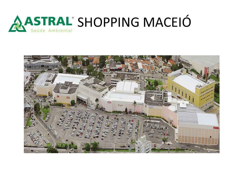 Shopping Maceió O Maceió Shopping foi o primeiro shopping a se instalar na capital alagoana.