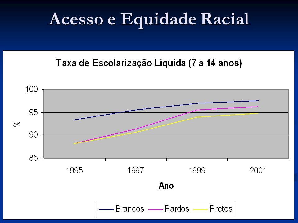 Acesso e Equidade Racial