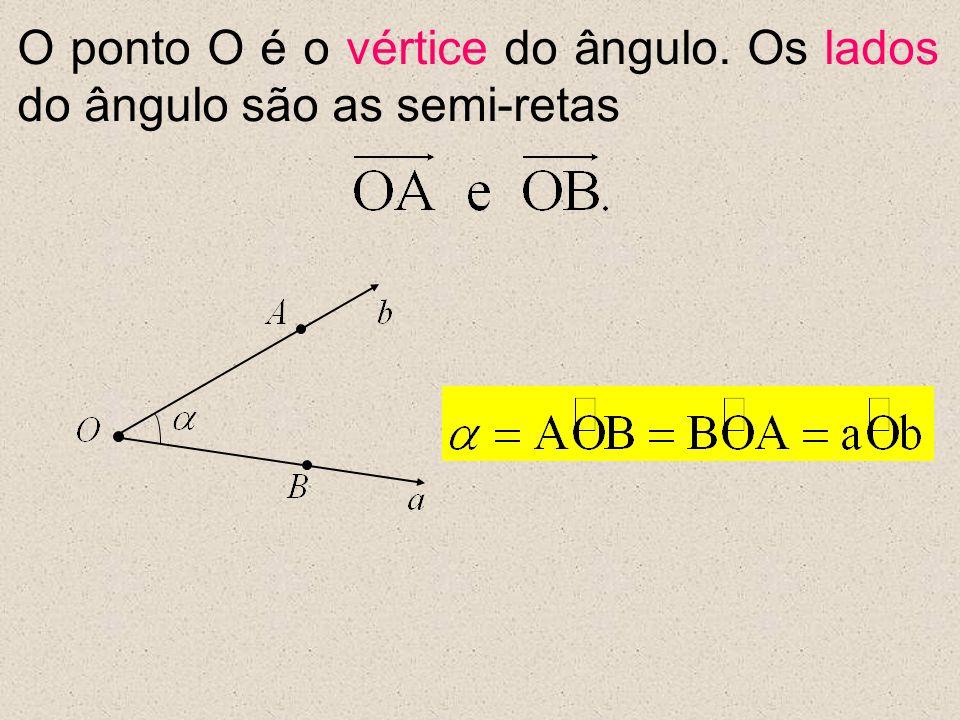[ Ângulos Consecutivos ] Dois ângulos são consecutivos se, e somente se, um lado de um deles coincide com um lado do outro.