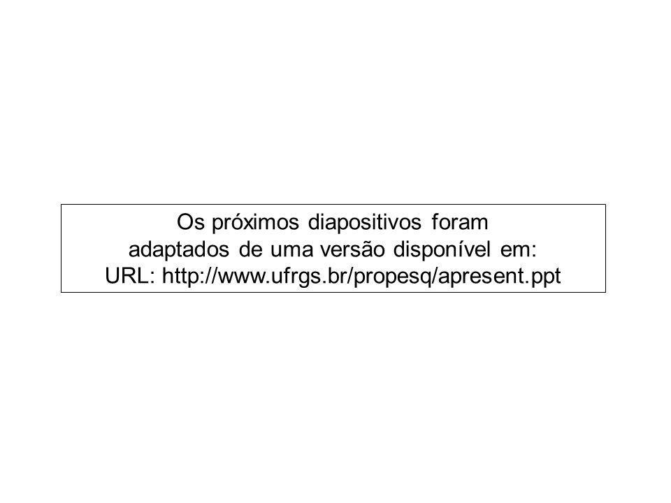 8/18 COMO FAZER UMA APRESENTAÇÃO DE SETE MINUTOS