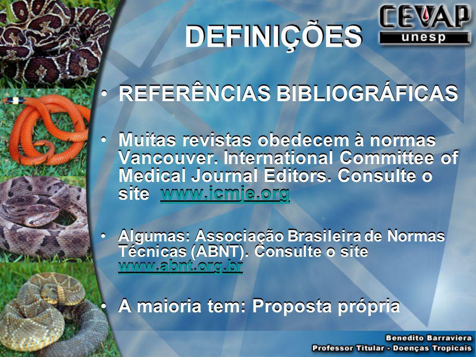 PALAVRAS CHAVES – KEY WORDS Usar descritores (português e espanhol): Descritores em Ciências da Saúde, da Literatura Latino- Americana e do Caribe em
