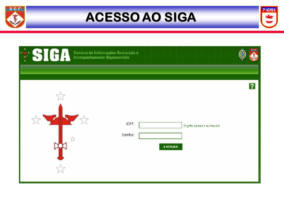 ACESSO AO SIGA