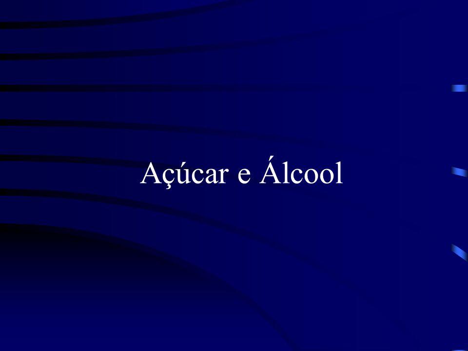 Usinas de Açúcar e Álcool Setor Sucroalcooleiro Produtos: Açúcar Álcool (Etanol) Energia Elétrica Matéria-Prima: Cana-de-Açúcar