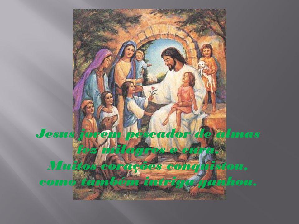 Jesus ainda criança ajudante de carpinteiro as vezes fugia dos seus, para cumprir a missão do PAI.