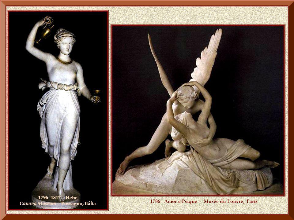 PROJECÇÃO A sua fama ultrapassou fronteiras e Napoleão convidou-o a ir a Paris, onde lhe foram encomendados um busto do imperador e estátuas de Maria