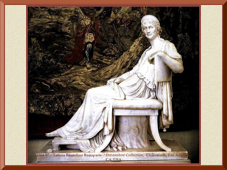 1804-07 - Letizia Ramolino Bonaparte - Devonshire Collection, Chatsworth, Los Angeles, CA, USA