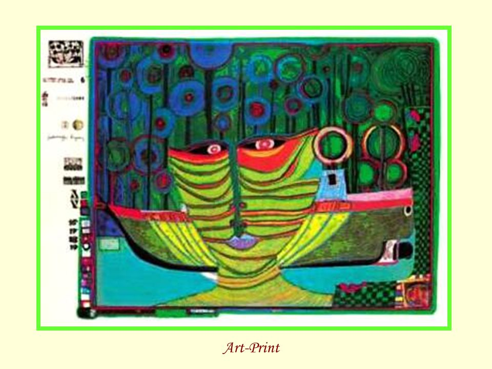 Tropenchinese Art-Print