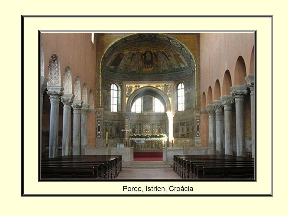 Afresco, Basílica de Santa Sofia, Istambul, Turquia