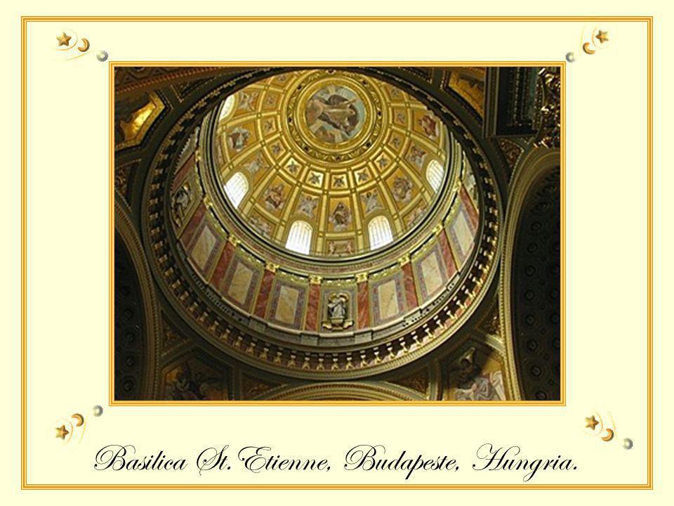 Basílica de St. Anne de Beaupré, Quebec, Canadá 360 degraus interativos para peregrinação
