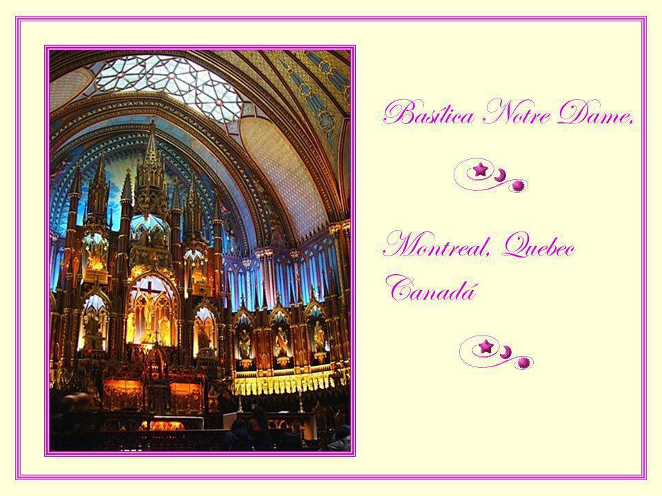 Basílica Notre Dame, Montreal, Quebec Canadá