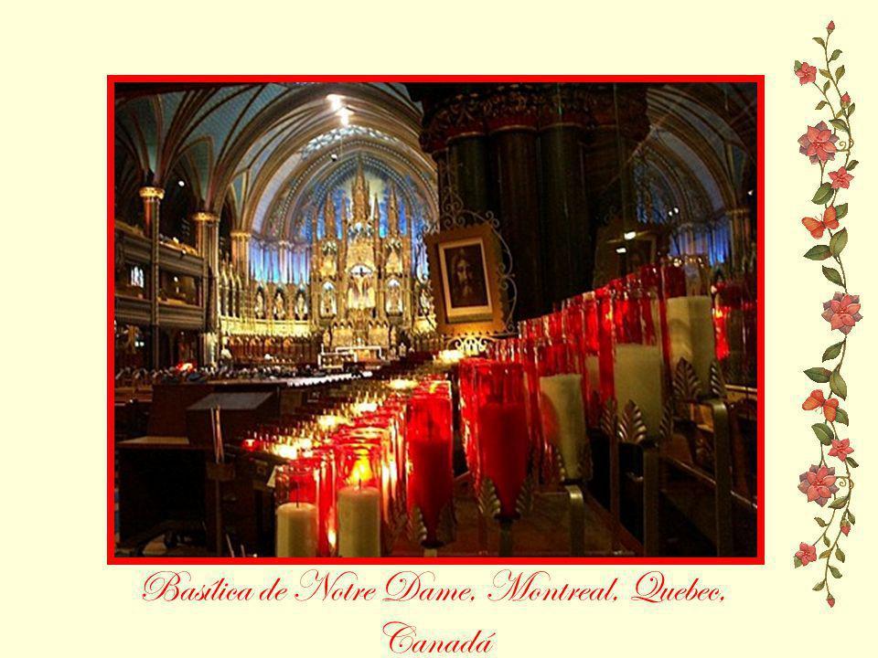 Basílica de Notre Dame, Montreal, Quebec, Canadá