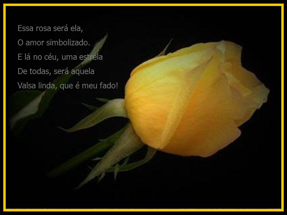 Essa rosa será ela, O amor simbolizado.