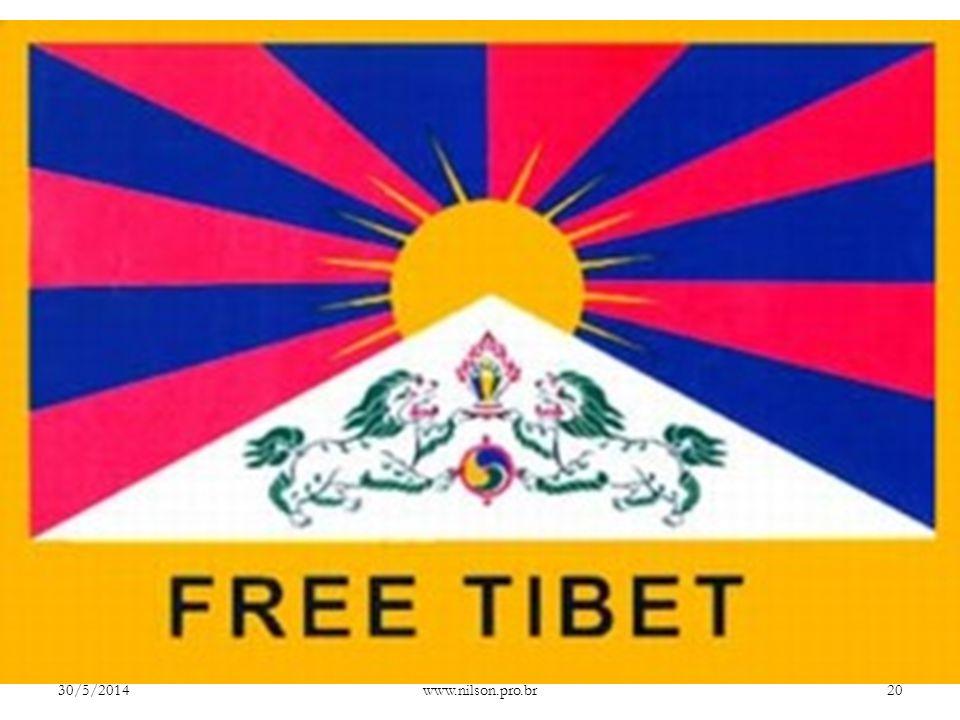 Entendendo a causa tibetana O Tibete vem sendo palco de protestos contra os mais de 50 anos de domínio chinês. Estas protestos começaram como uma reaç