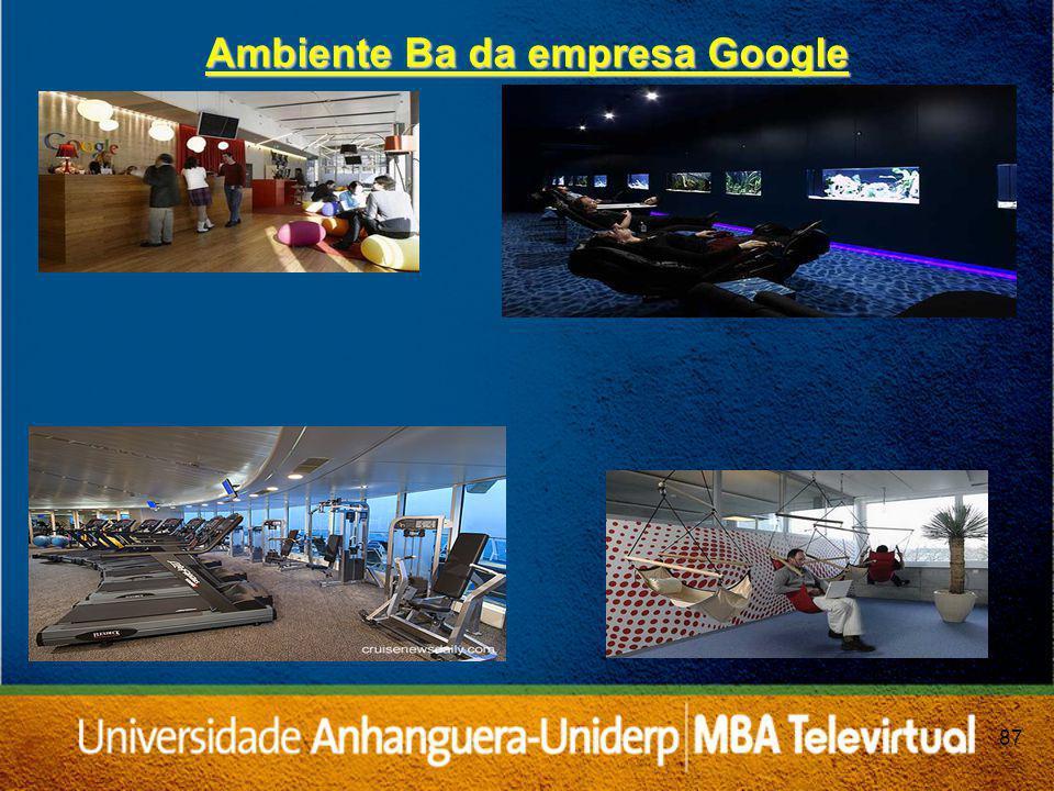 87 Ambiente Ba da empresa Google
