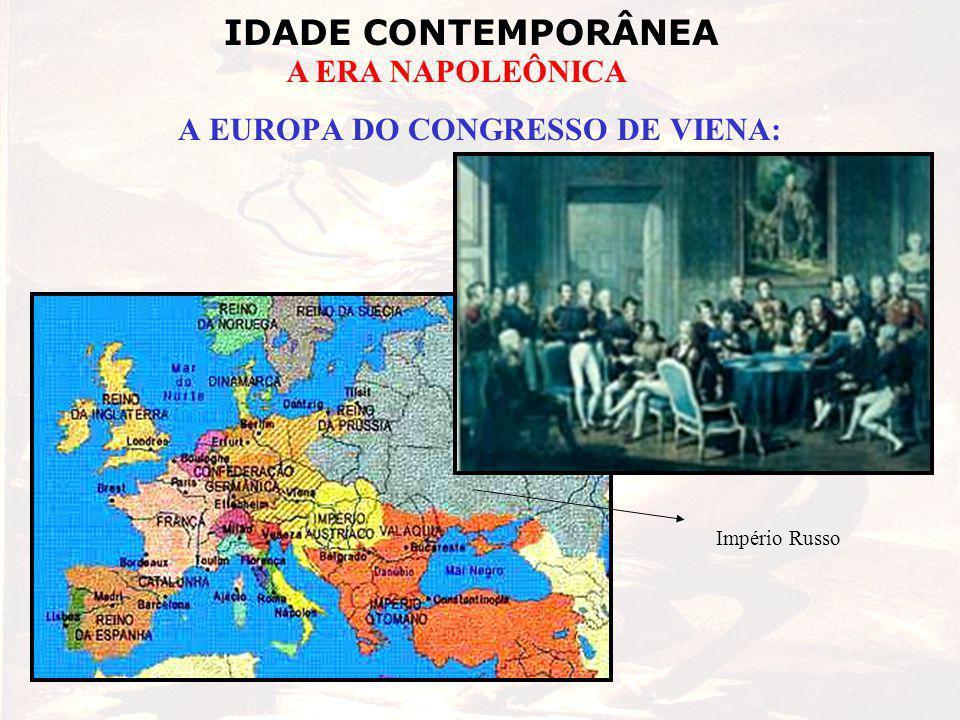 IDADE CONTEMPORÂNEA A ERA NAPOLEÔNICA A EUROPA DO CONGRESSO DE VIENA: Império Russo