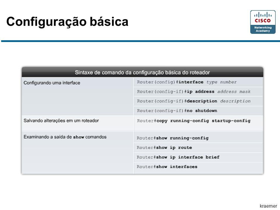 kraemer Configuração básica