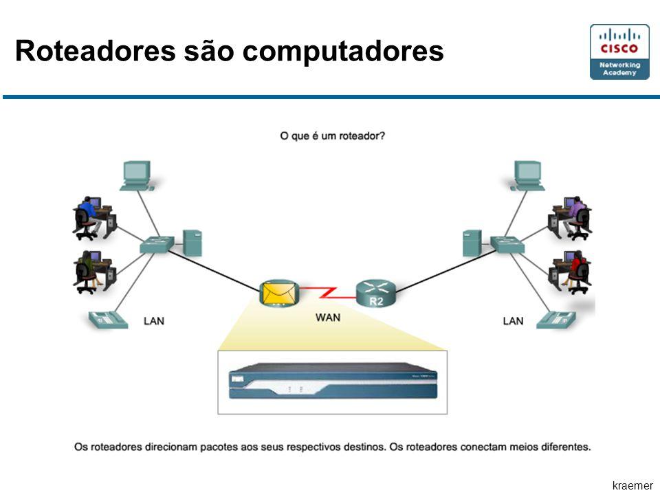 kraemer Roteadores são computadores