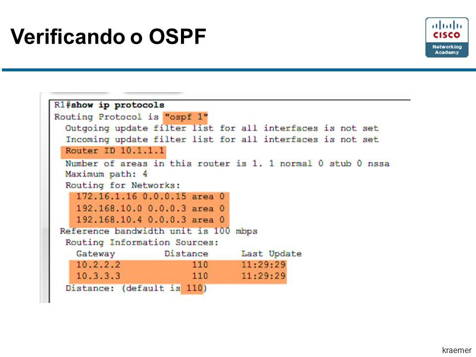 kraemer Verificando o OSPF