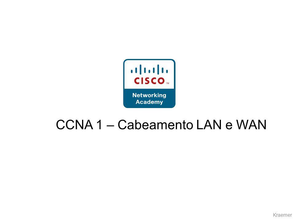 Kraemer CCNA 1 – Cabeamento LAN e WAN