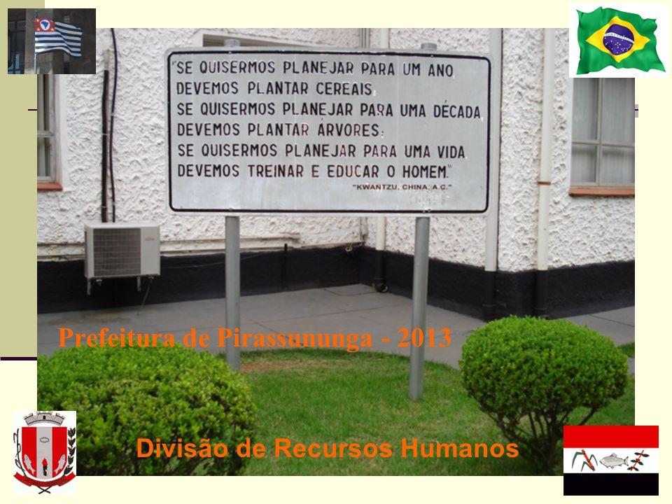 Prefeitura de Pirassununga - 2013 Divisão de Recursos Humanos