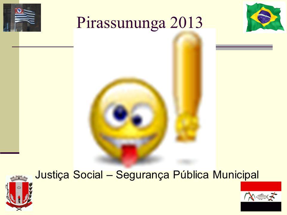 Pirassununga 2013 Justiça Social – Segurança Pública Municipal