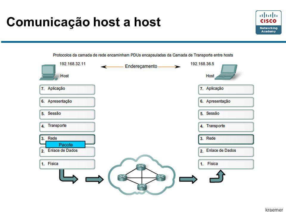 kraemer Divisão de redes Os problemas comuns com grandes redes são: Deterioração do desempenho Problemas de segurança Gerenciamento de Endereços