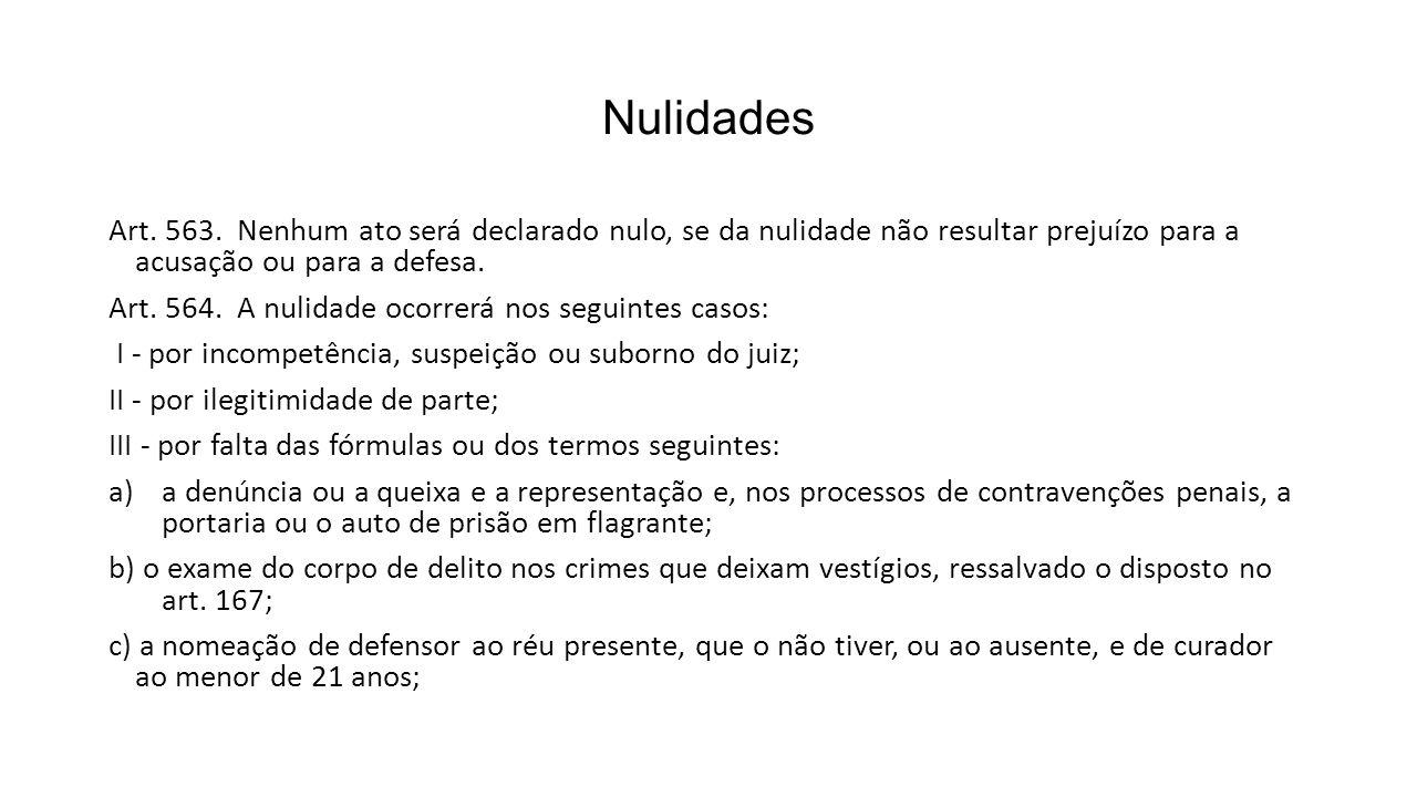 Nulidades Art.563.