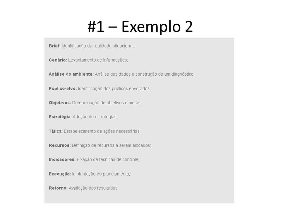 #1 – Exemplo 2