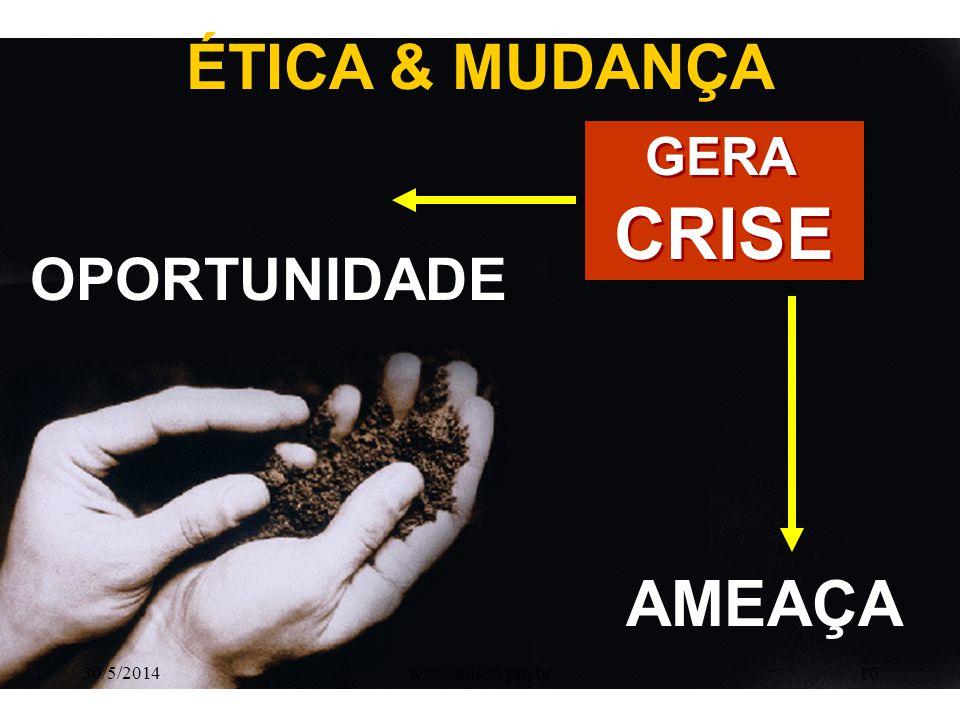 MELHOR SEM O S CRIE CRI S E: 30/5/201415www.nilson.pro.br