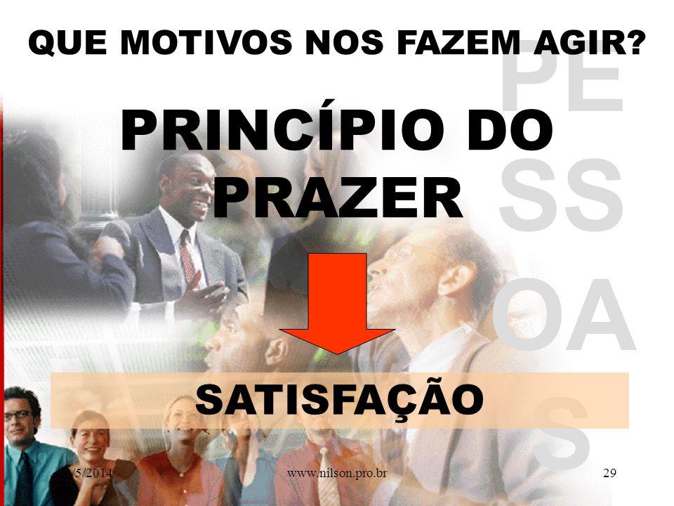 Construção de valores, Competências e habilidades durante a VIDA. 30/5/201428www.nilson.pro.br