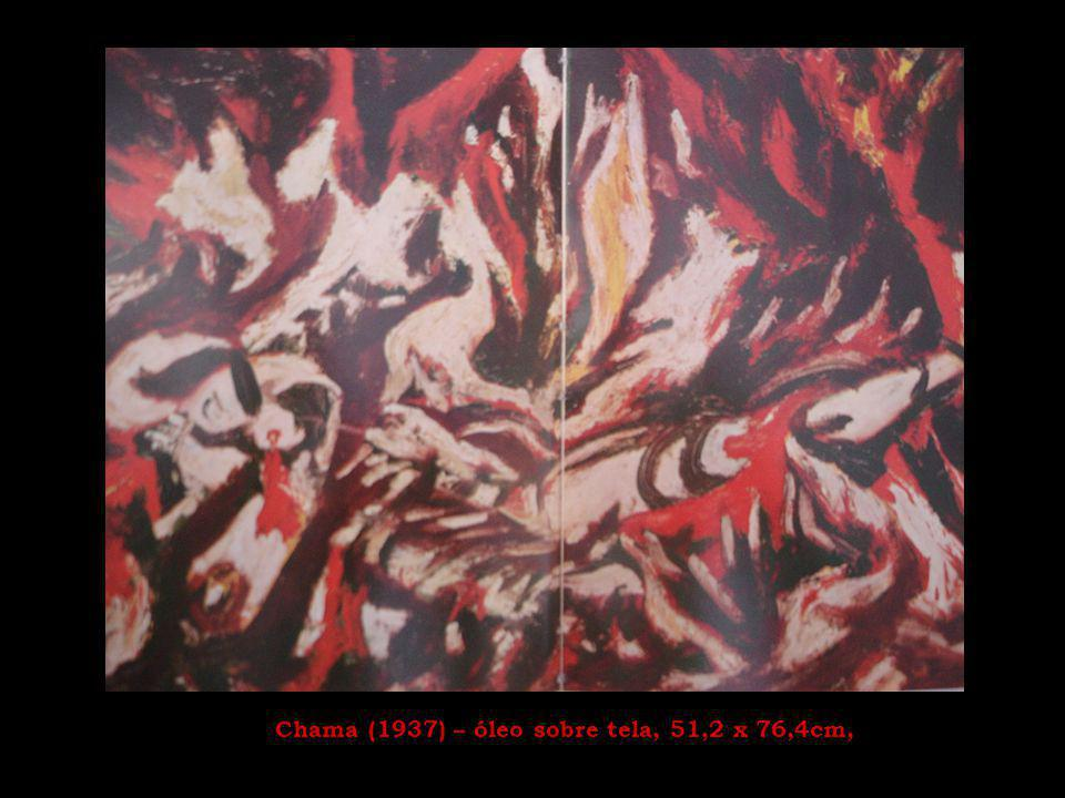 Arte e resistência Pollock era um pintor inquieto.