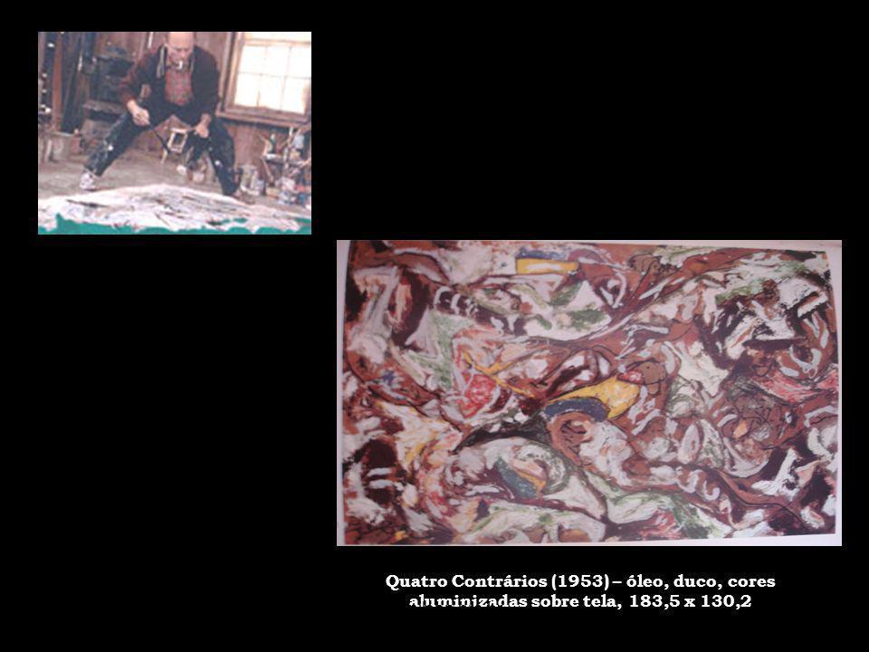 Quatro Contrários (1953) – óleo, duco, cores aluminizadas sobre tela, 183,5 x 130,2 30/5/201421www.nilson.pro.br