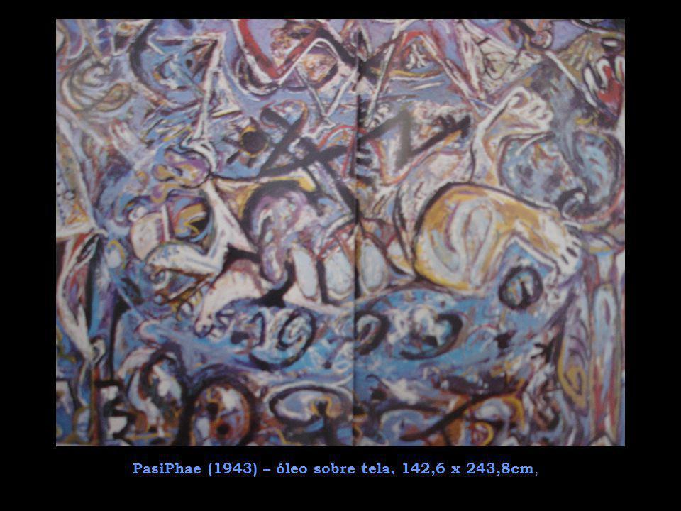Técnicas de Pintura Sua técnica era singular: Pollock colocava as telas no chão e, através de imagens do inconsciente, jogava a tinta com a ajuda de cordas, escova dental e pedaços de pau sobre tela, abandonando o pincel.