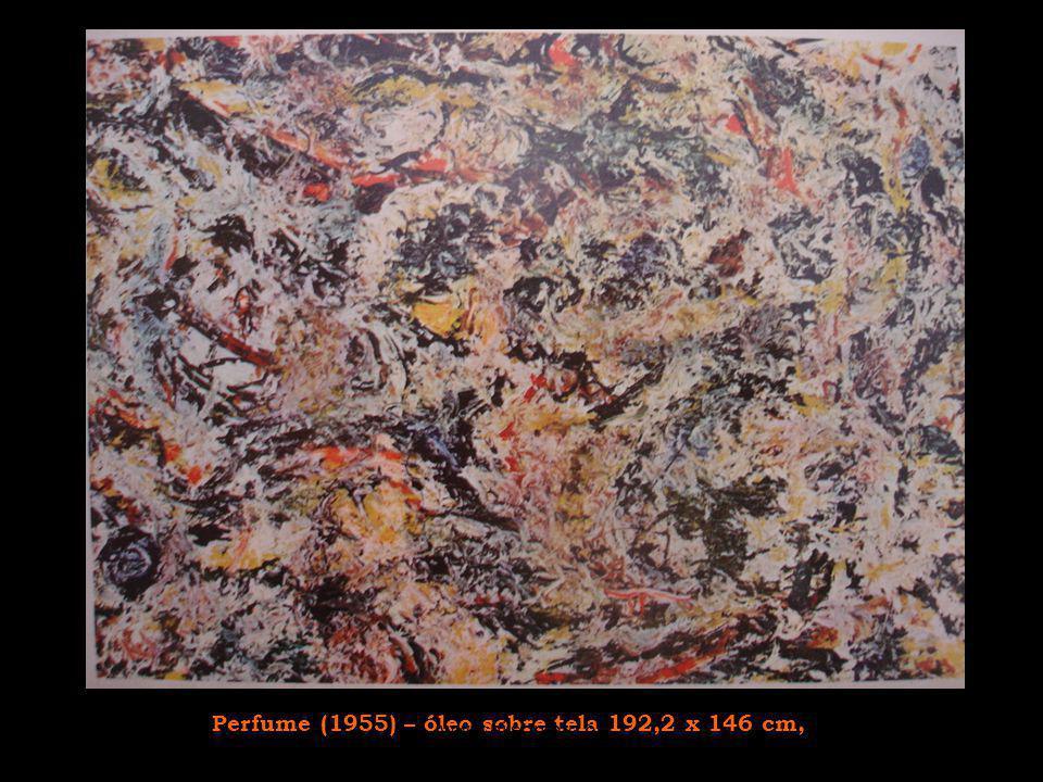 Período negro Ele decide abandonar as cores em 1951-52, a partir daí a maioria de suas telas são compostas em branco e preto.