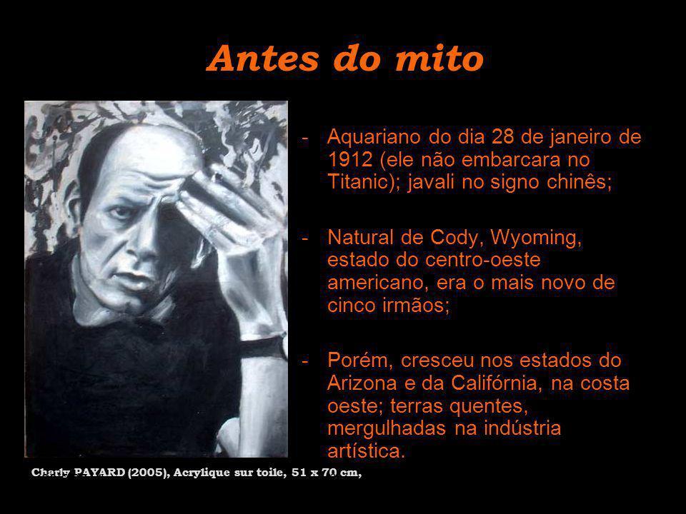 Antes do mito -Aquariano do dia 28 de janeiro de 1912 (ele não embarcara no Titanic); javali no signo chinês; -Natural de Cody, Wyoming, estado do cen