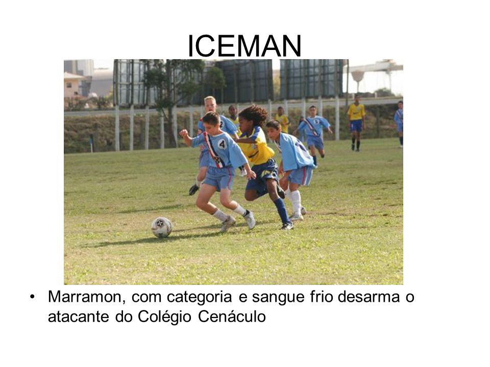 ICEMAN Marramon, com categoria e sangue frio desarma o atacante do Colégio Cenáculo