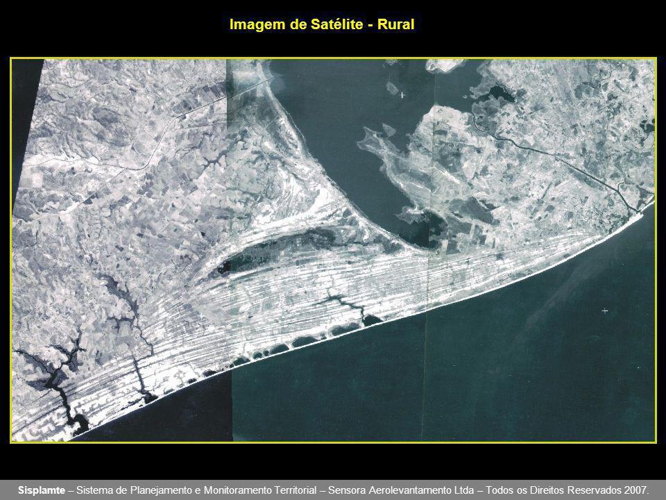 Imagem de Satélite - Rural Sisplamte – Sistema de Planejamento e Monitoramento Territorial – Sensora Aerolevantamento Ltda – Todos os Direitos Reservados 2007.