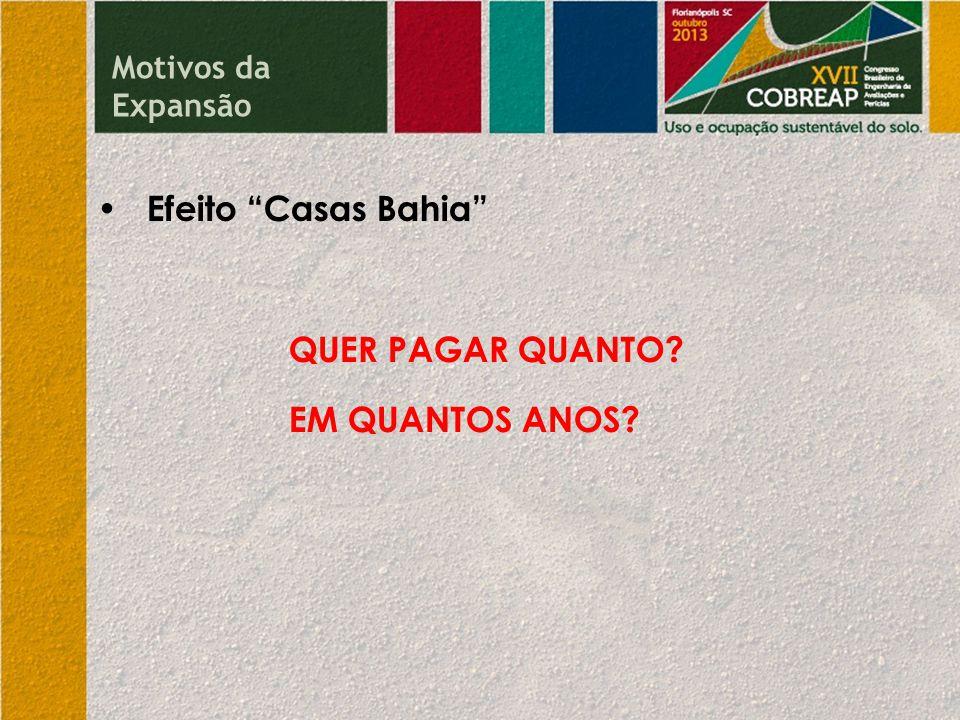Efeito Casas Bahia QUER PAGAR QUANTO? EM QUANTOS ANOS? Motivos da Expansão