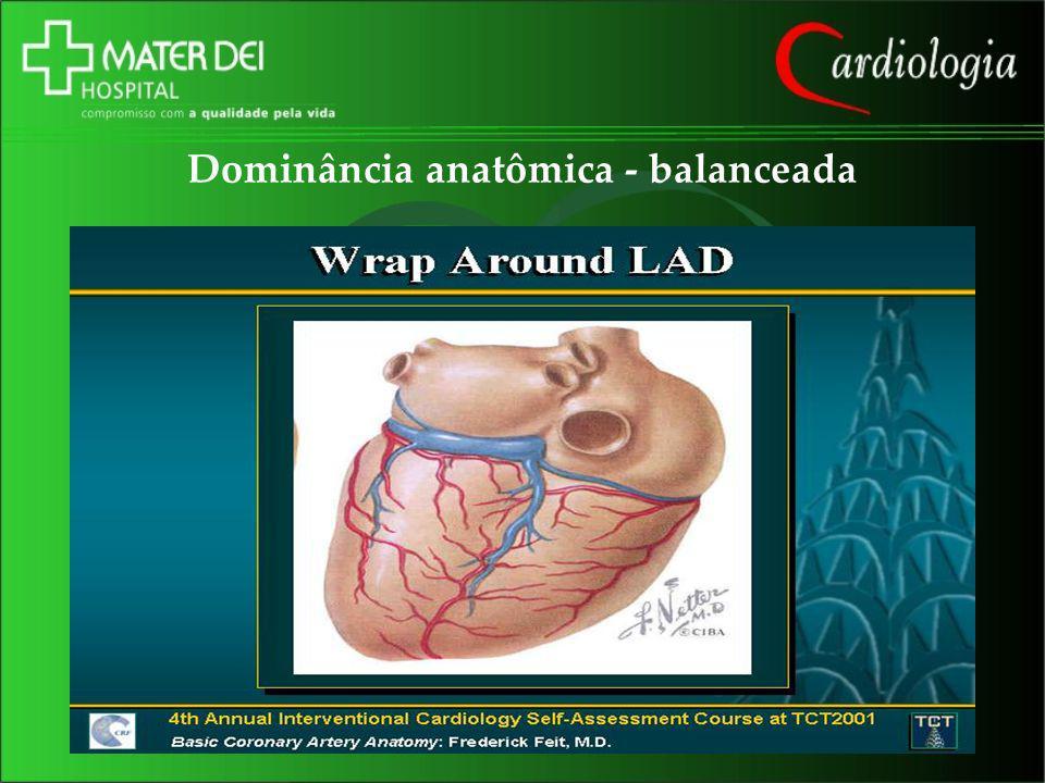 Dominância anatômica - balanceada