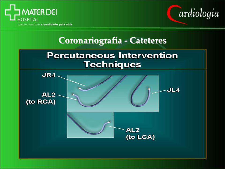 Coronariografia - Cateteres