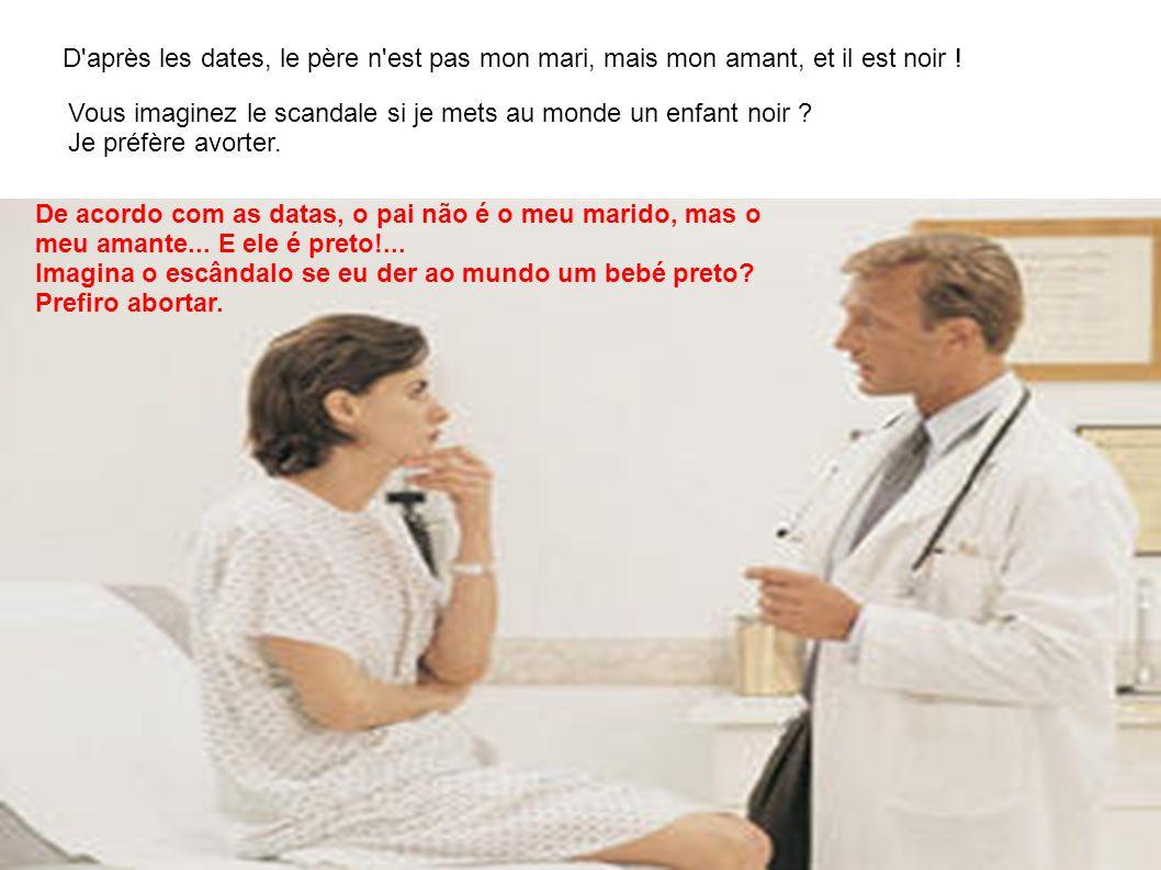 Alors que son gynécologue vient de lui annoncer qu elle est enceinte, une jeune femme s écrie : - Docteur, c est une catastrophe .