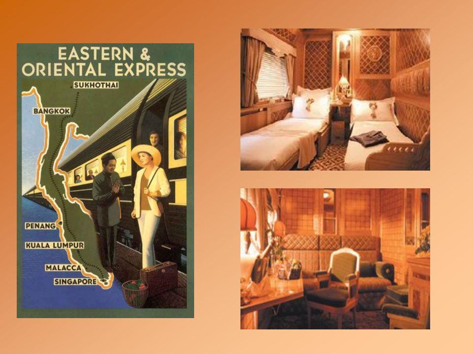 Aujourd'hui, cette idée de revivre l'âge d'or des voyages a pris corps aussi en Asie et en Australie. Le luxueux Eastern and Oriental Express remonte