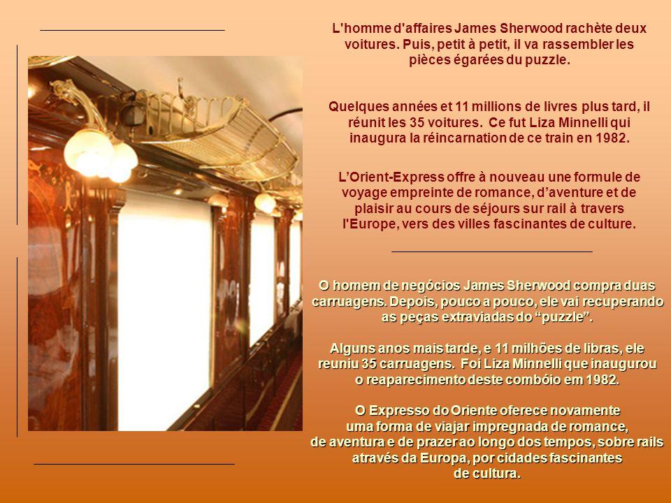 La seconde guerre mondiale porte un brutal coup darrêt à lépopée de lOrient-Express. La quasi-totalité des voitures est détruite ou réquisitionnée. En