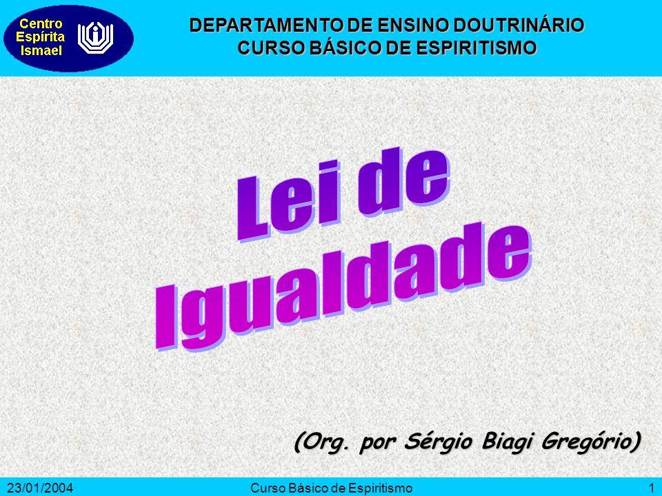 23/01/2004Curso Básico de Espiritismo12 KARDEC, A.